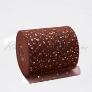 Brown Sequin Tulle Roll